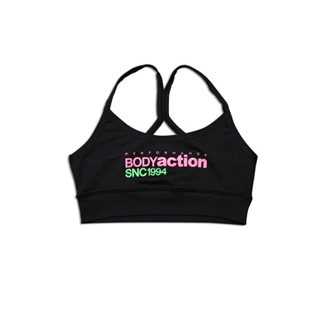 BODYACTION WOMEN RACERBACK SPORTS BRA