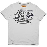 BODYACTION MEN SLIM FIT SS T-SHIRT ΜΠΕΖ