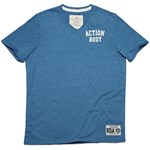 BODYACTION MEN SLIM FIT SS T-SHIRT ΡΟΥΑ