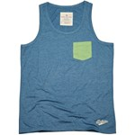 BODYACTION MEN REGULAR FIT TANK ΑΜΑΝΙΚΟ T-SHIRT ΜΠΛΕ